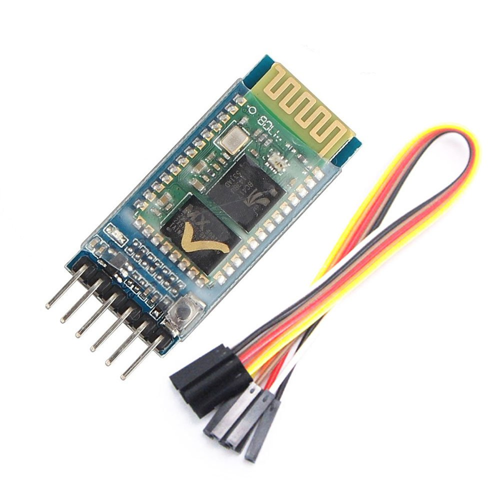 WINGONEER/® HC-05 Wireless Bluetooth Transceiver Modul Slave and Master RS232 with 6 set cable for Arduino