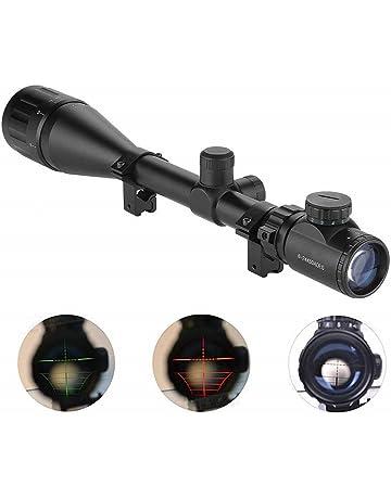 IRON JIAS Miras de Arma Airsoft alcances tácticos óptica luz Verde Rojo Doble w/Rails