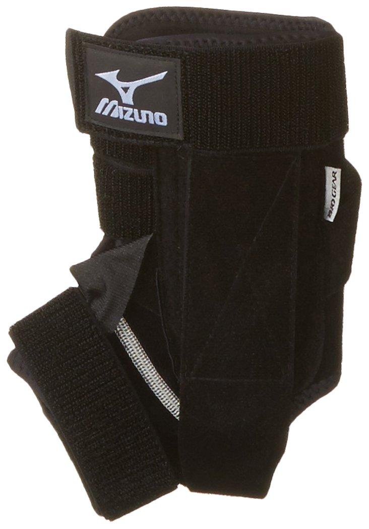 Mizuno DXS2 Left Ankle Brace, Black, Large by Mizuno