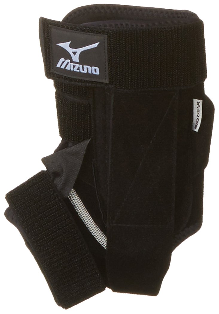 Mizuno DXS2 Left Ankle Brace, Black, Medium