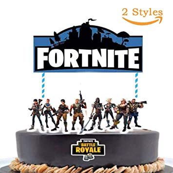 Fuyus Video Game Birthday Cake Topper Decoration2 Styles 7 Inch For