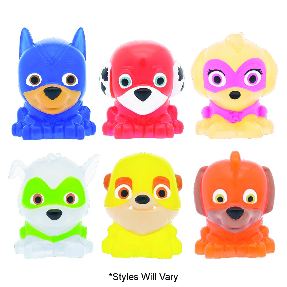 Mash'Ems - Paw Patrol 4 Pack (4 Blind Capsules Per Order) Squishy Collectible Toy by Basic Fun