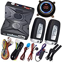 Car Auto Start Stop Engine System With Car Alarm Security Protection
