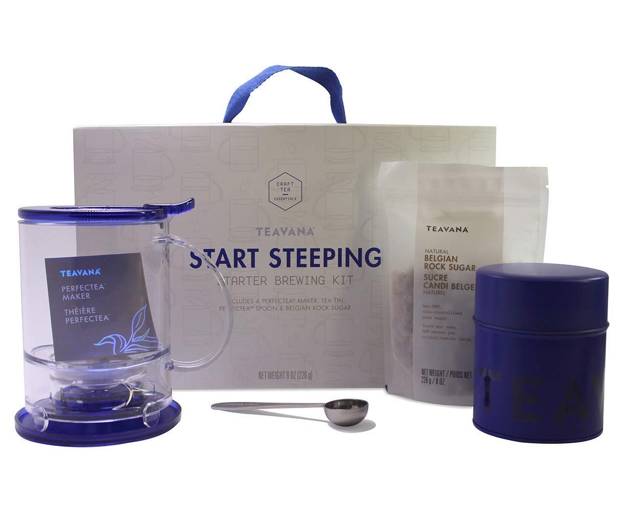 Teavana Start Steeping Starter Brewing Kit (with Blue Teamaker)