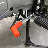 Generic Imported Rubber Shiftier Sock Boot Shoe Protector Shift Cover Motorcycle Dirt bike (Orange)