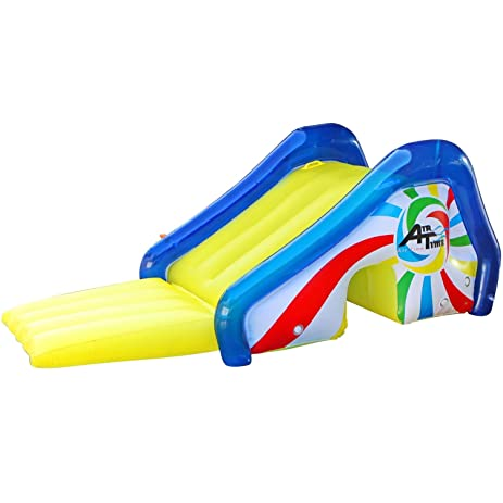 inflatable pool float jumbo pool slide with sprayers lake float and river float 433 x 386