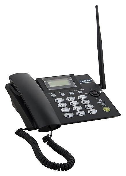 ICHIBAN CCNJTG21G001 Dual SIM GSM Fixed Wireless landline Phone (Grey)
