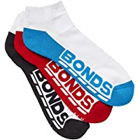 Bonds Men's Logo Low Cut Sport Socks (3 Pairs)