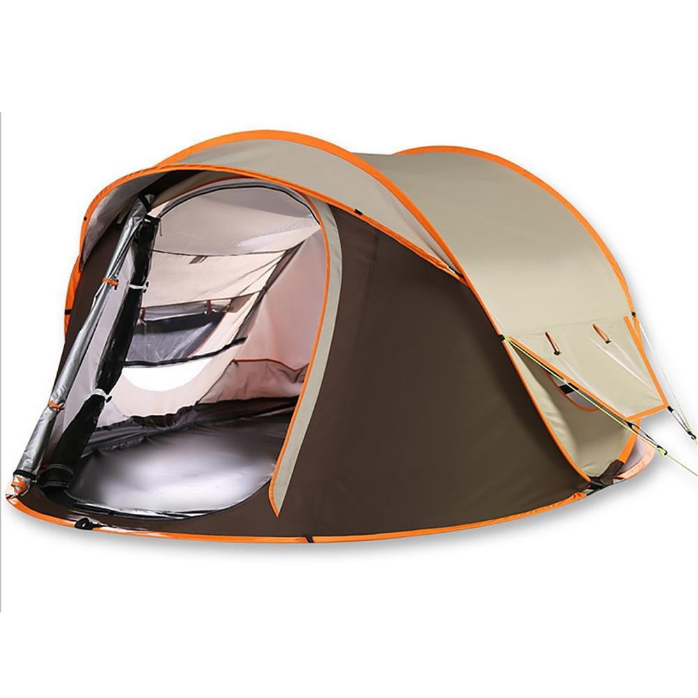 MIAO Outdoor 3-4 People Double Rain Prevention Camping Zelte
