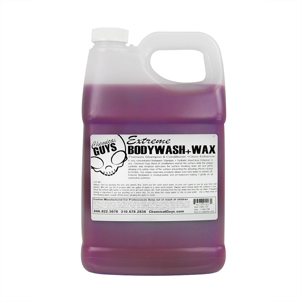 chemical-guys-cws-107-extreme-body-wash-synthetic-wax-car-wash-shampoo-1-gal-best-rated-pressure-washer-detergent-soap-cars