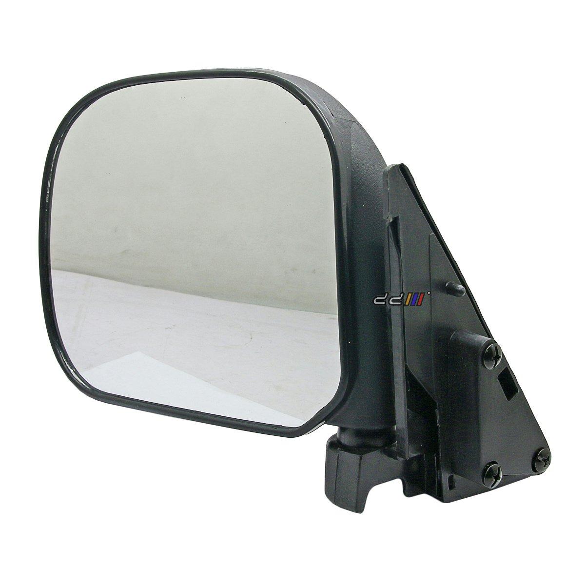 Front Left Manual Door Side Mirror For Toyota Hiace H100 Series Van 1989-04