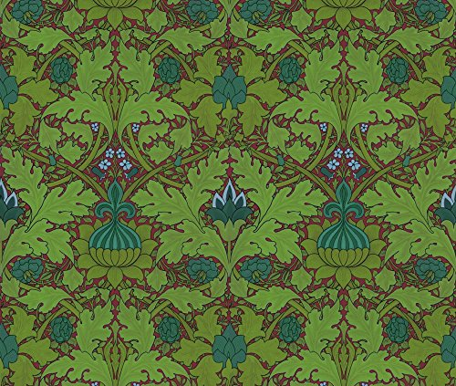 william-morris-growing-damask-seaside-garden-on-puce-by-peacoquettedesigns-william-morris-fabric-wit