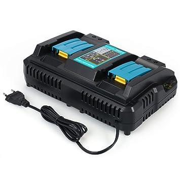 Cargadores de batería para herramientas eléctricas DC18RD Puertos ...
