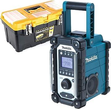 Makita DMR109W DAB 10.8v-18v LXT//CXT LI-ion Job Site Radio with 1 x 3.0Ah Battery