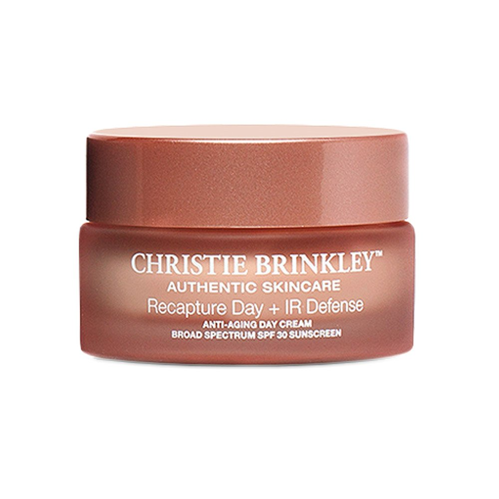 Christie Brinkley | Authentic Skin Care Recapture Day with IR Defense - Intensive Anti-Aging Day Cream | 1.0 Ounces