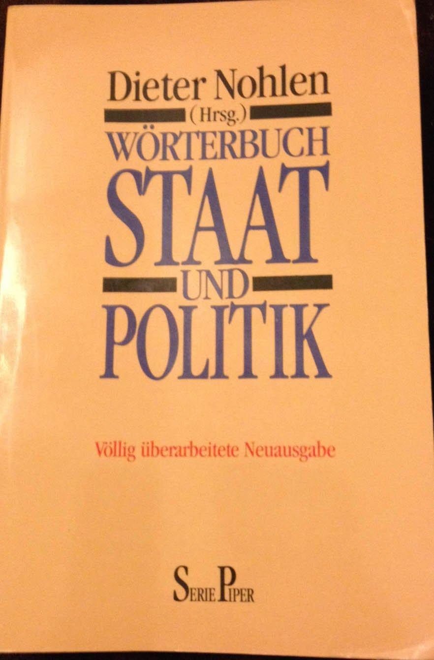Wörterbuch Staat Und Politik