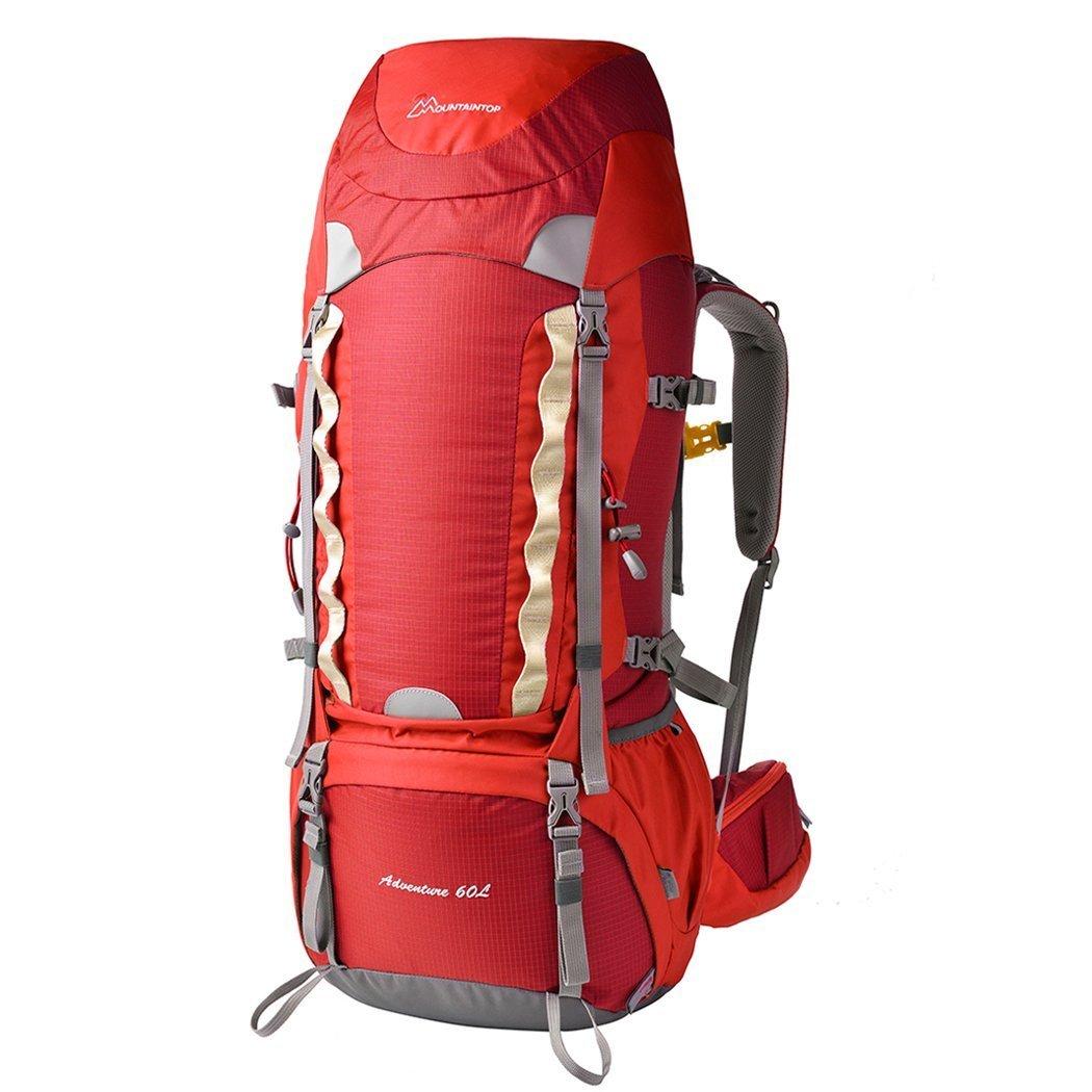 Loowoko 50L Große Wandern Trekking Rucksack Daypack für