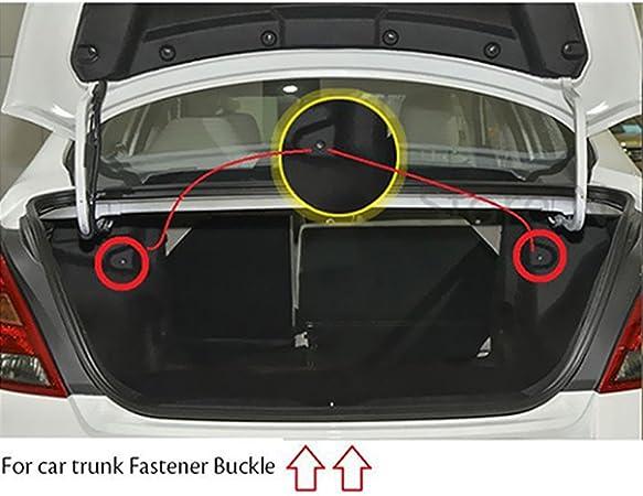 500pcs Auto Auto Sujetador reemplace los Tornillos Clips burlete de retenci/ón de pl/ástico Remaches Sello del Coche for To-yo-ta Mazda BMW Color : Yellow