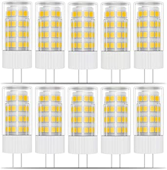 Phoenix G4 Led Lampen 5w Ersetzt 40w Halogenlampen Warmweiss 3000k 12v Ac Dc Led Leuchtmittel 400lm Kein Flackern Nicht Dimmbar 10er Pack Amazon De Beleuchtung