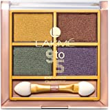 Lakme 9 to 5 Eye Color Quartet Eye Shadow, Tanjore Rush, 7 g