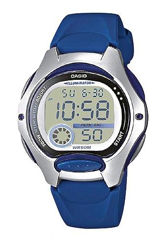 1ea142d9f947 Casio Reloj Digital para Mujer de Cuarzo con Correa en Resina LW-200-2AVEF   Casio  Amazon.es  Relojes