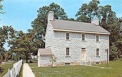 Farm Deacons Shop Pleasant Hill Kentucky KY USA Shaker Postcard