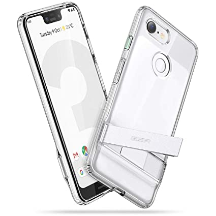 premium selection f5912 c1564 ESR Metal Kickstand Case Compatible with The Google Pixel 3 XL, [Vertical  and Horizontal Stand] [Reinforced Drop Protection] Flexible TPU Soft Back  ...