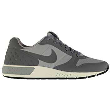 Nike Nightgazer Running Shoes Mens Silver/Grey Fitness Sports Trainers  Sneakers (UK7) (