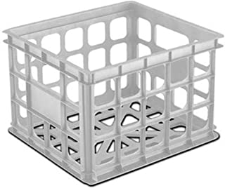product image for Sterilite 16928006 WHT Stor Crate, White