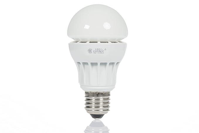 Bombilla LED E27 Blanco Cálido 2700 K 9 W equivalente a min. Bombilla de 40