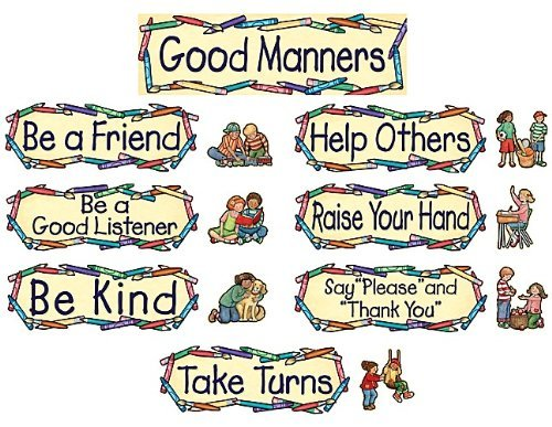 - Teacher Created Resources SW Good Manners Mini Bulletin Board (4297) by Teacher Created Resources