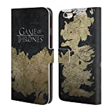 Official HBO Game Of Thrones Westeros Map Key Art Leather Book Wallet Case Cover For Apple iPhone 6 Plus / 6s Plus