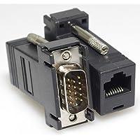 Dantronics Kit Extensor De Cable Vga Mediante Rj45 hasta 33 Metros