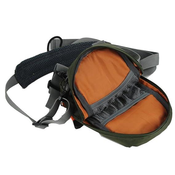 Amazon.com   Kylebooker Fly Fishing Chest Bag Lightweight Waist Pack  (Adjustable Size)   Sports   Outdoors 36170ee590fd3