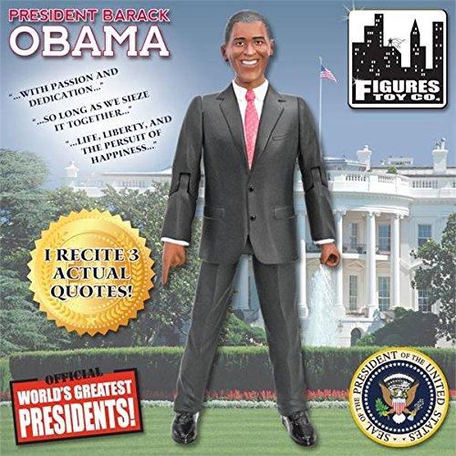 President Obama Talking Action Figure (Barack Obama Figure compare prices)