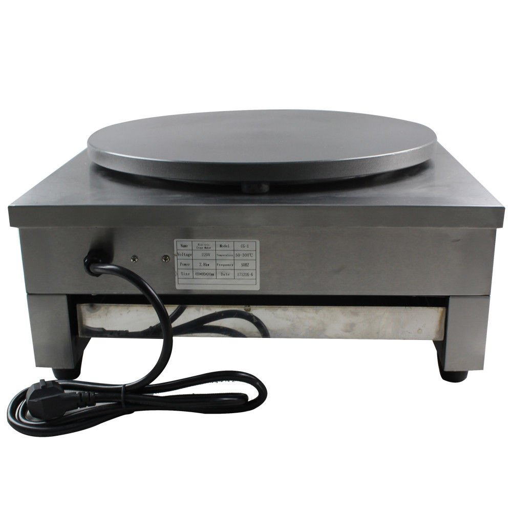 Crepe Maker Machine Pancake Griddle, 3KW 16'' Commercial Nonstick Electric Crepe Maker Pancake Machine Kitchen (US Stock) by GDAE10 (Image #7)