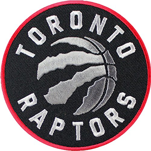 Official Toronto Raptors Logo Large Sticker Iron On NBA Basketball Patch Emblem by Patch Collection