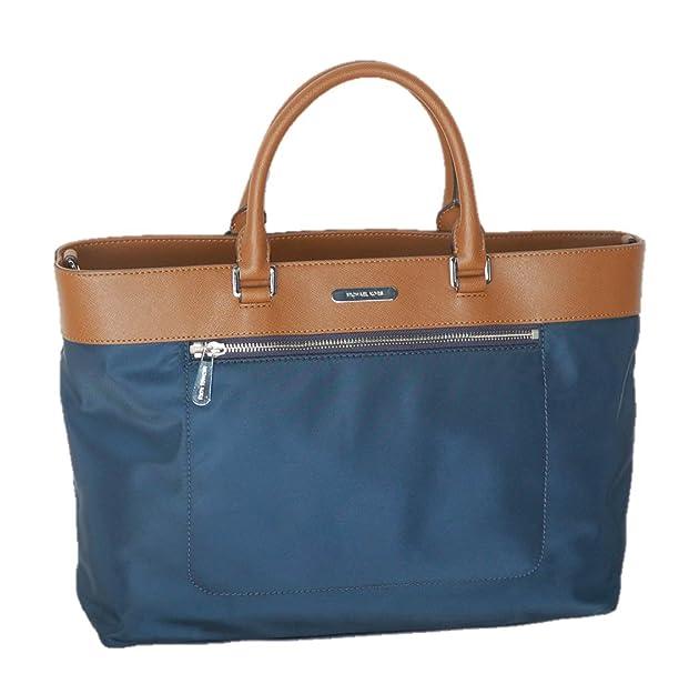 92695c00b348 Amazon.com  Michael Kors Large Colgate East West Leather   Nylon Tote  Shoulder Bag