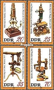 sellos para coleccionistas: DDR (RDA) 2534-2537 (completa.edición) nuevo con goma original 1980 Carl-Zeiss