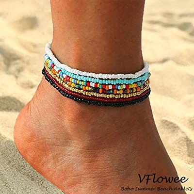 African Beaded Foot Chain