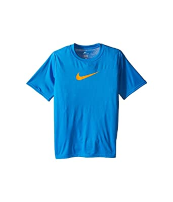 buy popular f78df 550a0 Amazon.com  Nike Dry Big Kids Boys Training T-shirt  Clothing