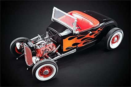 diecast hot rod models