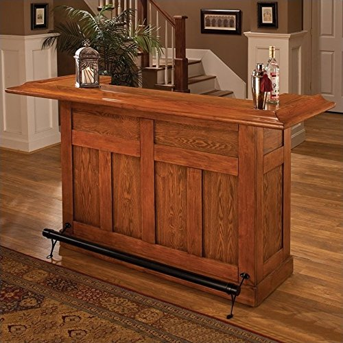 Hillsdale Classic Oak Large Home Bar Unit for sale  Delivered anywhere in USA
