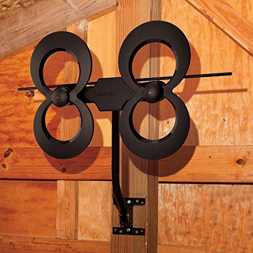 Antennas ClearStream TV Mile Range, Multi-directional, Outdoor, Mast Pivoting Base, Hardware, -
