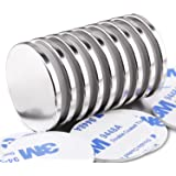 LOVIMAG Super Strong Neodymium Disc Magnets, Powerful Rare Earth Magnets - 1.26 inch x 1/8 inch, Pack of 9