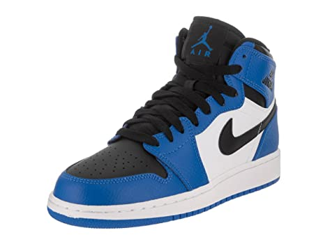 Nike Jordan Kids Air Jordan 1 Retro High Bg SoarSoarWhiteBlack