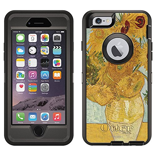 OtterBox Defender Case for Apple iPhone 6 - Van Gogh Vase with Twelve SunFlowers