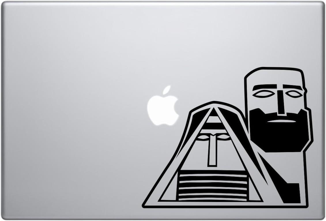 Symbol of Artsakh Statue Gharabagh Armenia car truck SUV mac book mac air laptop tool box wall window decal sticker approx 6 inches black