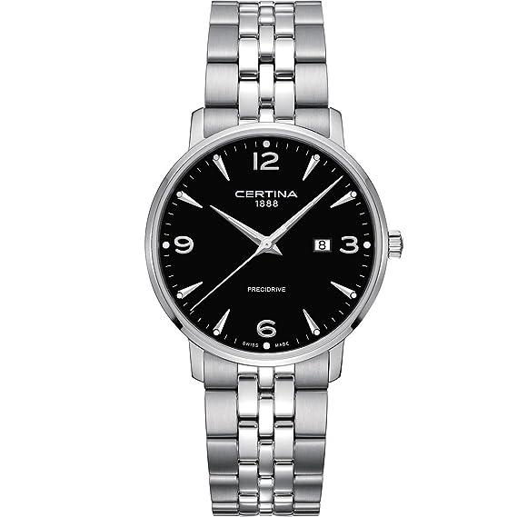 Certina DS Caimano Reloj de hombre cuarzo 39mm C035.410.11.057.00: Amazon.es: Relojes