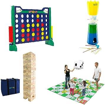 Garden Games Conjunto de Juegos Gigantes: Amazon.es: Juguetes y juegos